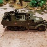 M16 MGMG AA half-track
