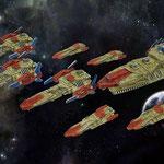 Hawker Industries battlefleet