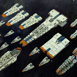 Terran Alliance fleet