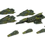 Works Raptor battlefleet
