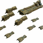 The Tarakian fleet
