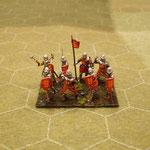 Chevaliers anglais à pied 1
