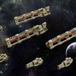Xelocian fleet