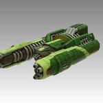 Bombard class gunship