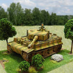 Tiger I E diorama