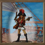 Pirate girl captain 1