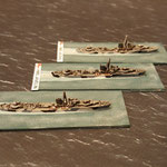 J class destroyers (HMS juno, HMS Javelin & HMS Jackal)
