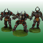 Chaos warriors team