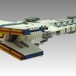 Razorthorn class battleship