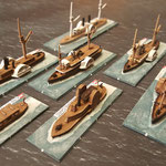 Gunboats fleet