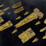 Terran Alliance fleet