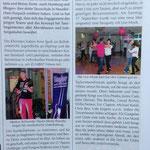 Pressemeldung es Heftche, Ausgabe Oktober 2016, Tanzparty Tanzschule Zentz am 17. September 2016 ab 20.00 Uhr