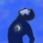 Der Mond im Mann.