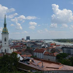 Bratislava - view from the castle