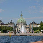 Amalienborg and Mable Church