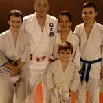 Une délégation japonaise mené par Maitre Tanaka vient faire un stage au club
