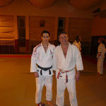 entrainement avec Kevin AZEMA, membre de l'équipe de France