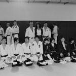 Entrainement avec une délégation japonaise de Tokyo.