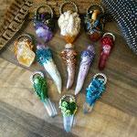 Kettenanhänger mit Kristall