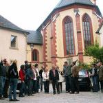 ...wurde am 4. Mai 2011 bei einer Exkursion von 24 Goßmannsdorfern klar, die sich für die Dorferneuerung in ihrem Ort engagieren.  Wichtigste Erkenntnis an jenem Abend in Sulzfeld: