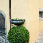 Eine von Architektin Bärbel Faschingbauer (Sulzfeld) begleitete Grünplanung sorgt in dem Weinort dafür, dass selbst in versteckten Ecken liebevolle Details zu entdecken sind. Die Anwohner kümmern sich darum.