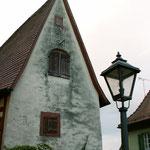 Das Winzerhäusle unterhalb der Kirche - ältestes Gebäude in Sulzfeld (um 1500).