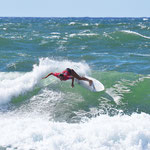 Action beim Swatch Girls Pro France