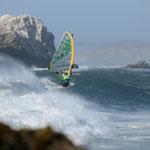 Karin Dornbusch liebt große Wellen