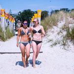 Anissa Mohrath & Josephine Ramann - nicht nur Rivalinnen im DWC, sondern Freunde.
