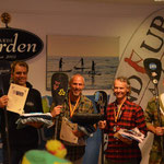 Die Herren: 1. Andy Wirtz, 2. Dirk Herpel, 3.Martin Oeser, 4.Jens Heising