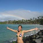 Annalena auf Maui / Hawaii