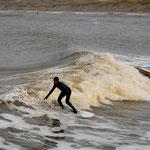Nørre lässt das Surferherz höher schlagen