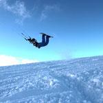 Snowkiten in Feldberg © Sander Mohr