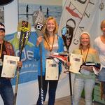Die Girls: 1.Noelani Sach, 2. Pauline Herpel, 3.Bettina Kohl, 4.Claudia Haese