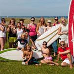 Infos über Bretter zum Surfen gab es von Norden Surfboards