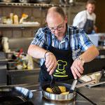 Chöcheler mit wichtigem Gring (Foto Saisonküche, Roger Hofstetter)