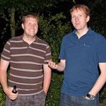 Tim aus Baunatal und Axel von der Geschäftsstelle des DARC