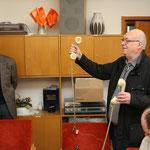 Prof. Helmut Pfaar (li.) und Helmut Lotz