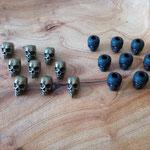 Skulls Bronce und Plastic Black