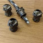 Ninja Skull Farbe Gunmetall
