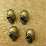 Piraten Skulls Bronce gross
