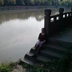 Ich am See No. 1 ...