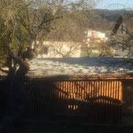 Gartenfläche - Garage - Zubau