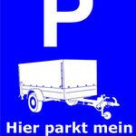 Anhänger - Wien abstellen