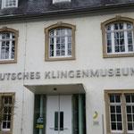 Besuch im Deutschen Klingenmuseum