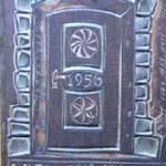 Holzschnitt Druckstock