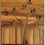 Palisadenbaum 43 x 32 cm