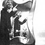 Spiegel an einer Aufführung