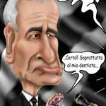 """Caricatura/Vignetta - Ranieri """"A Muso Duro"""""""