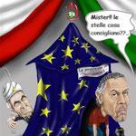 """Caricatura/Vignetta - Donadoni - Domenech """"La professeria"""""""